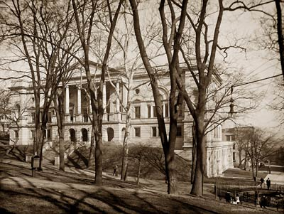 State Library, Richmond Virginia, capitol's grounds