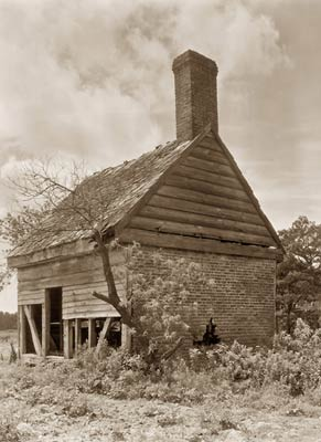 Rustic outbuilding. Drummond Mill, store, and cabin, Virginia