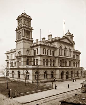 Custom House and Post Office, Memphis Tennessee 1906