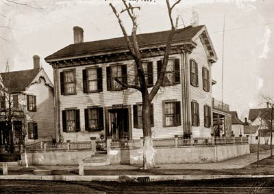 Abraham Lincoln house, Springfield Illinois