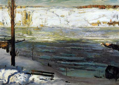 Floating Ice by George Bellows