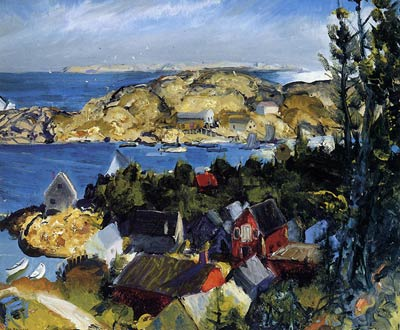 Matinicus fom Mr. Ararat by George Bellows