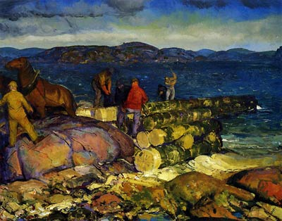 Dock Builders George Bellows