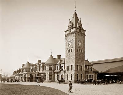 Union Railroad Station, Portland, Maine 1904