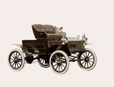 Northern automobile, antique car (between 1900 - 1910)