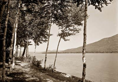 Shore at Cleverdale, Lake George, New York 1907