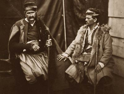 Discussion between two Croats, Crimean War