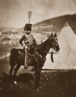 Cornet Wilkin, 11th Hussars Crimean War 1855
