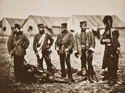 Lieutenant Colonel Munro officers of the 39th Regiment