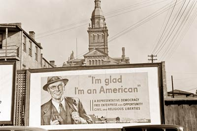 I'm glad I'm American Dubuque Iowa, April 1940