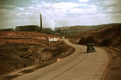 Sulphuric Acid, Copper Mining Sept 1939 Tennessee