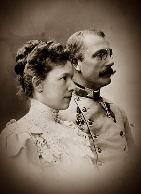 Archduke Franz Salvator of Austria, and Marie Valerie
