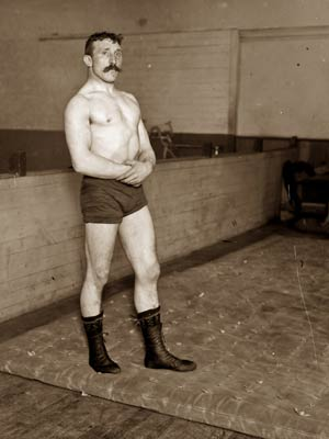 Irish wrestler Pat Connolly (Connelly)