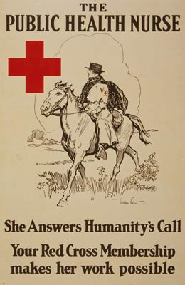 Public Health Nurse answers humanity's call WWI Poster