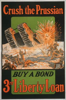 Crush the Prussian - World War I Poster