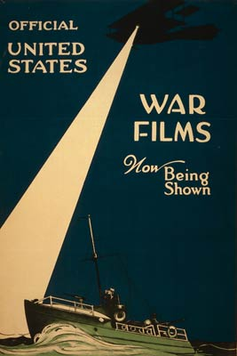 Official United States war films - World War I Poster