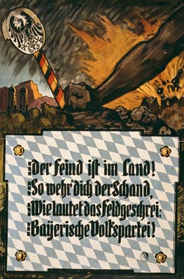 Resist communism - Bavaria - German World War I Poster