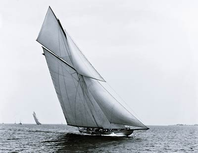 Columbia (Sloop) yacht, 1899