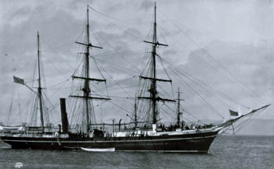 19th Century American ship - U.S.S. Thetis