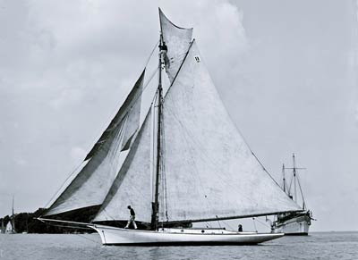 Alice Enright Yacht between 1890 and 1905
