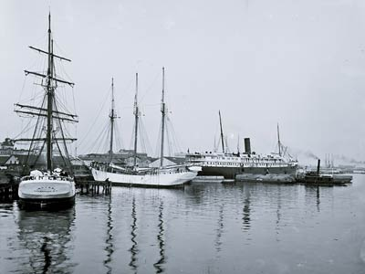 Alice Liverpool and Frances Weymouth ships Florida 1904