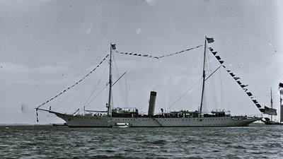 USS Mayflower (PY-1) luxurious steam yacht