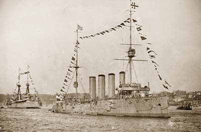 The Drake armoured cruiser for Royal Navy