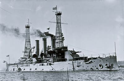 USS Kansas (BB-21) Connecticut-class battleship