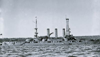 USS Minnesota (BB-22) US Navy Battleship