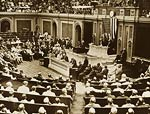 Session of the House of representatives Washington 1920's