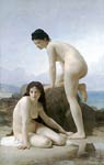 The Two Bathers (Les Deux Baigneuse) William-Adolphe Bouguereau