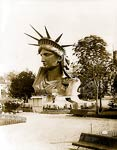 Statue of Liberty Head in Paris Park