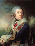 Portrait of Major General Fedor Artemyevich Borovskoy 1799