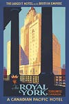 Canadian Pacific Hotel the Royal York, Poster