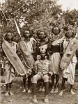 African Sudan warriors