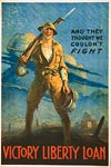 And they thought we couldn't fight WWI poster