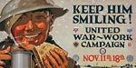 Keep him smiling! United War-Work Campaign WWI Poster