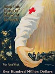 Keep this hand of mercy at its work WWI Poster