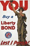 Statue of Liberty - Buy a Liberty Bond - WWI Poster
