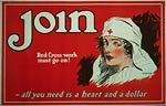 All you need is a heart and a dollar WWI Poster
