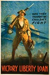 And they thought we couldn't fight - WWI Poster