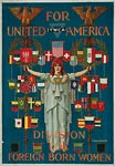 YWCA division for foreign born women - World War I Poster