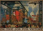On the job for victoryn World War I Poster