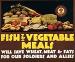 Save wheat and meat for our soldiers Canada Poster