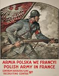 Polish Army in France World War I Poster