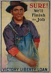 Sure! We'll finish the job World War I Poster