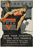 Help the fighters fight YMCA War Poster