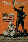 American Library Association World War I Poster