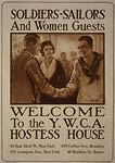 Welcome to YWCA. hostess house War Poster