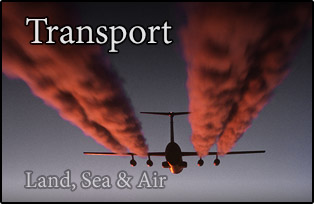 transport, land, sea and air